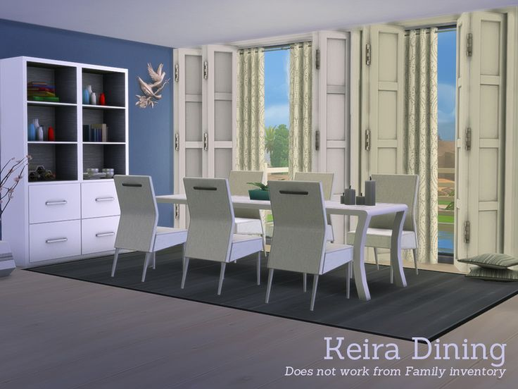 The Sims Resource Keira Dining By Angela