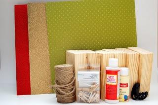stocking holders DIY - duh! what a good idea