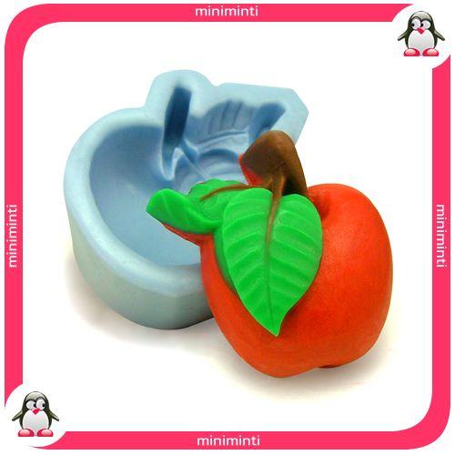 apple soap mold, elma sabun kalıbı. www.miniminti.com