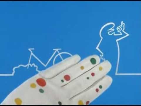 Enjoy this video of La Linea of Carlo Cavandoli, a great Italian cartoonist!!!