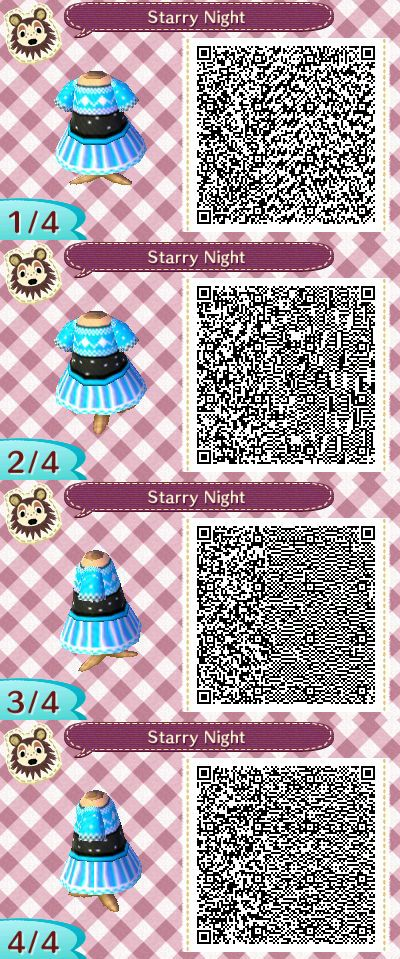 Top 319 best Outfits/QR Codes for Animal Crossing New Leaf images on  UT33