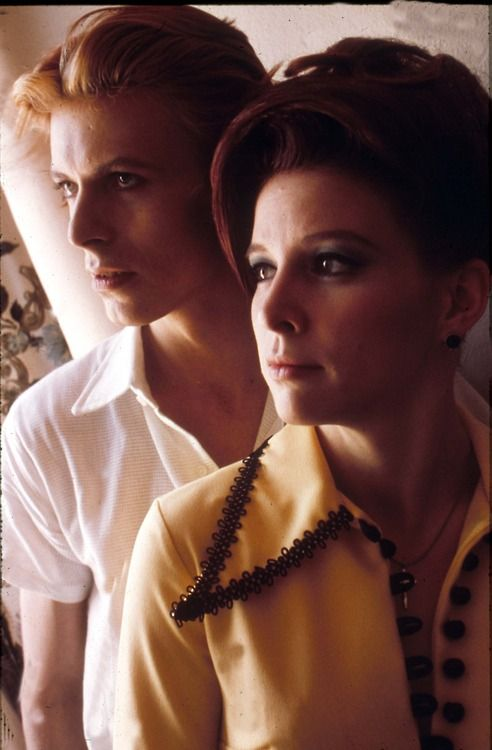 1976 ~ The Man Who Fell To Earth / David Bowie & Candy Clark