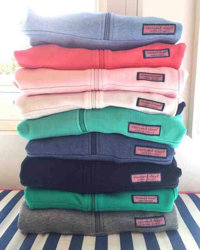 Vineyard Vines quarter zips