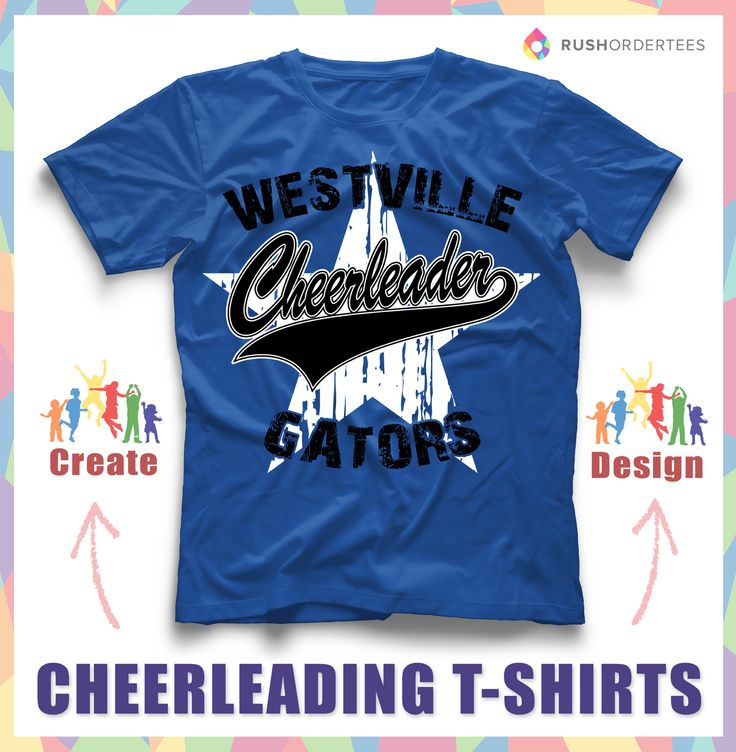 Beautiful Cheerleader T Shirts! Custom Cheerleading T Shirt Design Ideau0027s For You! Www