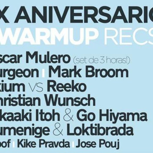 Exium vs Reeko - X Years Warm Up Records - Fabrik (Madrid)23-06-12 by Reeko by Reeko, via SoundCloud