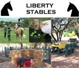 Liberty Stables Party Venue - Mooiplaats, offers fantastic horse parties! Our team entertains the kids with all sorts of games on horseback - an absolute winner! Kids do not need riding experience. Games Party: Children are entertained by playing various games, some / all of which involve ponies for approximately one hour. Games such as: place the ball; biscuit and balloon; bobbing for apples; sack races; etc.