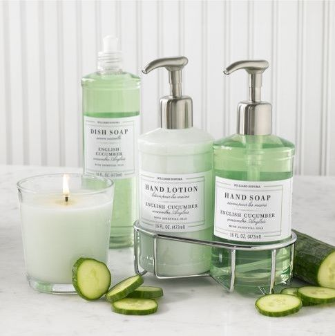 Bath Products : ... Collection, English Cucumber contemporary bath and spa accessories