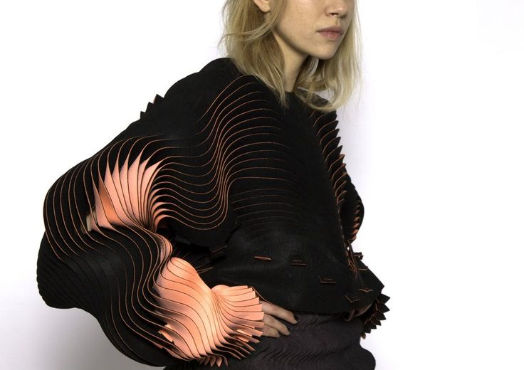 Royal College of Art MA Fashion student Katie Roberts Wood stunning collection piece