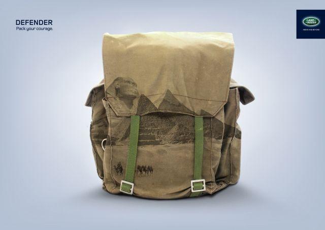 Land Rover: Bag #publicidad #advertising