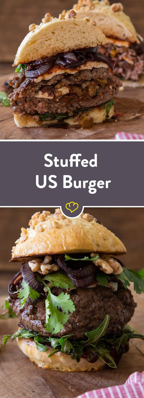 Stuffed US Burger