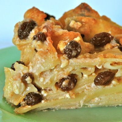 A tradition for Chanukah and throughout the cooler months, Cinnamon-Scented Apple Noodle Kugel is a heart-warming dessert that's simply delicious.