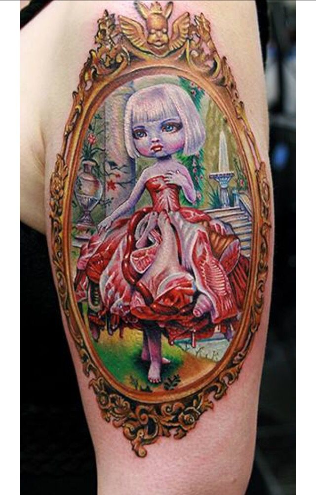 135 best images about dolls tattoos ideas on pinterest voodoo dolls child tattoos and mark ryden. Black Bedroom Furniture Sets. Home Design Ideas