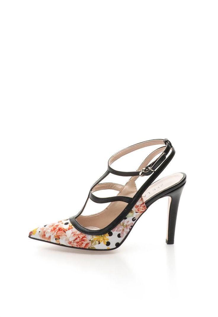 Pantofi slingback multicolori - Zee Lane