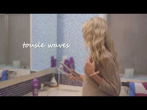 Quick Crimped Waves | Aussie Hair Care - YouTube