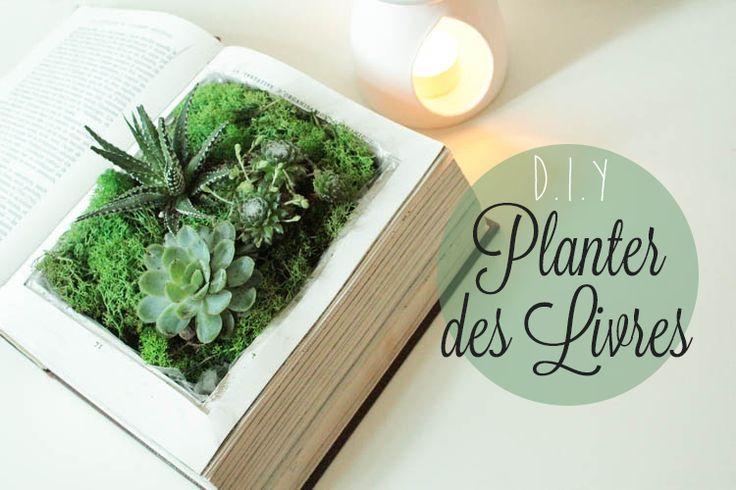D.I.Y – Planter des Livres