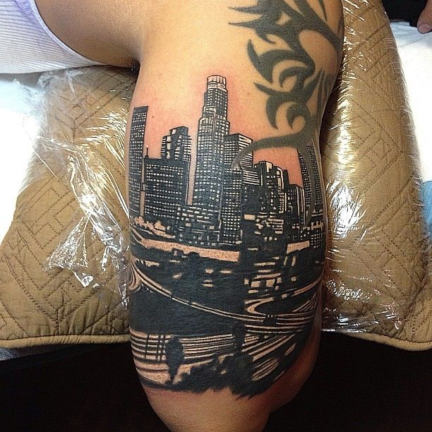 los angeles tattoo reppin la pinterest modern art