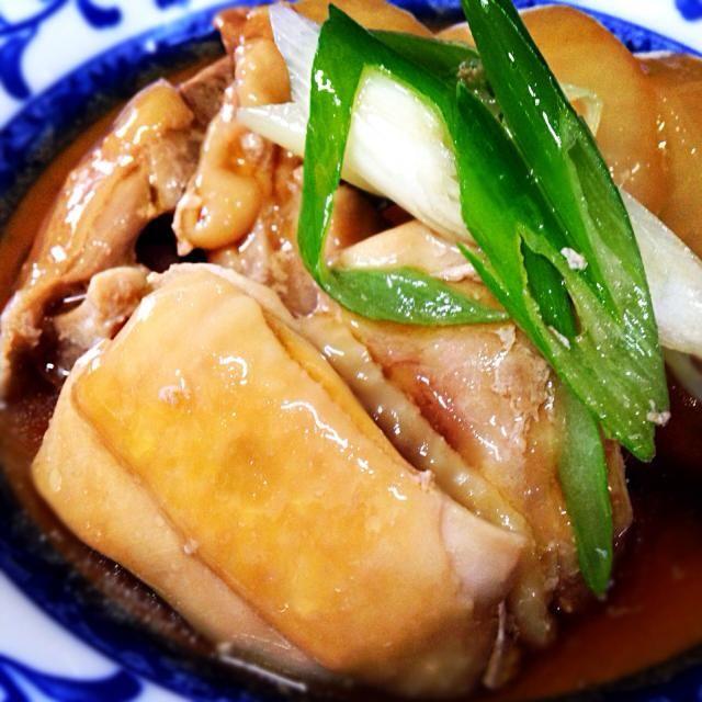 9月18日夕食メニュー ⚫︎鶏肉と大根の治部煮 ⚫︎和風サラダ ⚫︎豚汁 - 6件のもぐもぐ - 鶏肉と大根の治部煮 by 下宿hirota&メゾンhirota