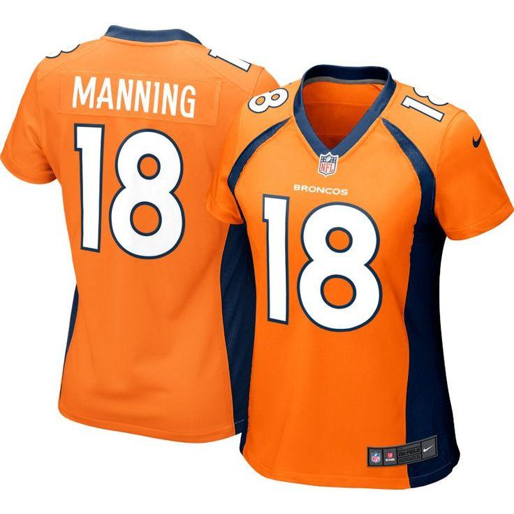 Nike Women's Home Game Jersey Denver Peyton Manning #18