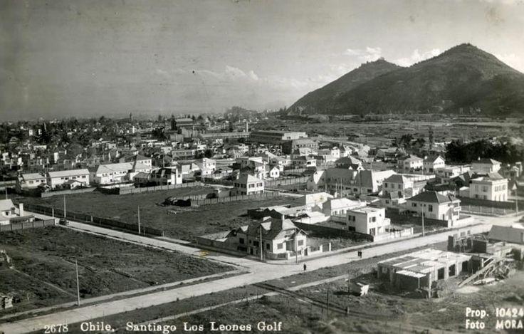 Sector El Golf, década 1940 23LosLeonesProvidenciaEnriqueMora1940