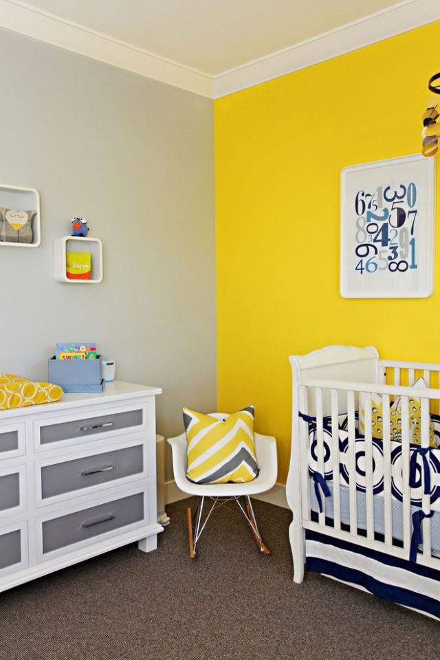Die besten 25+ Grau gelbe schlafzimmer Ideen auf Pinterest - wohnzimmer orange grau