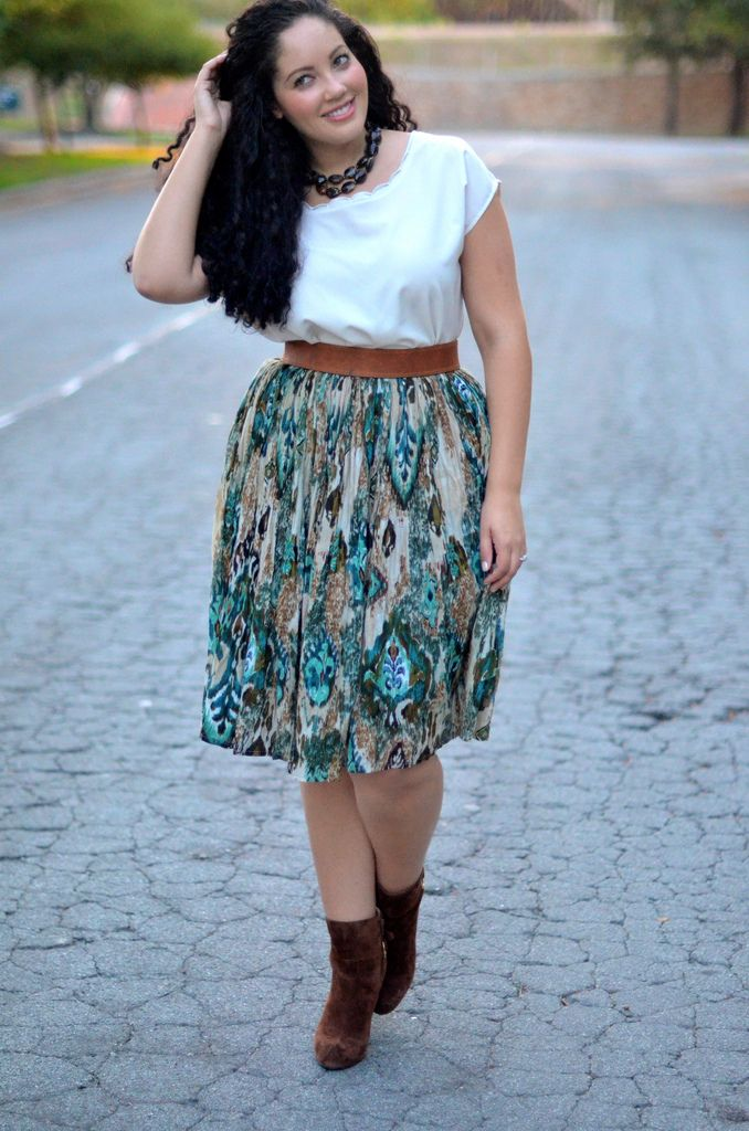 Girl with Curves: Amazing outfit.