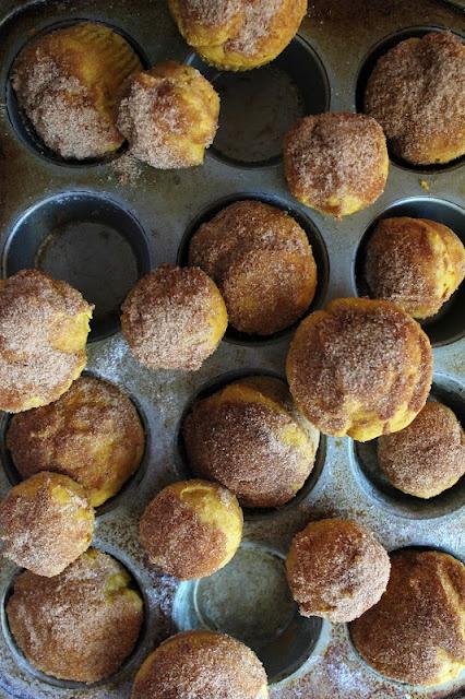 Icing Designs: Pumpkin Doughnut Muffins | Yum | Pinterest