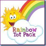 R for Rainbow Preschool, Tot, and Kindergarten Packs - 1+1+1=1