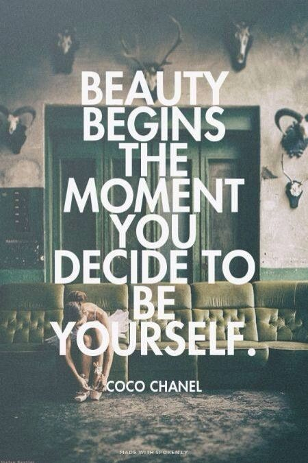 Beauty #quotes #Chanel
