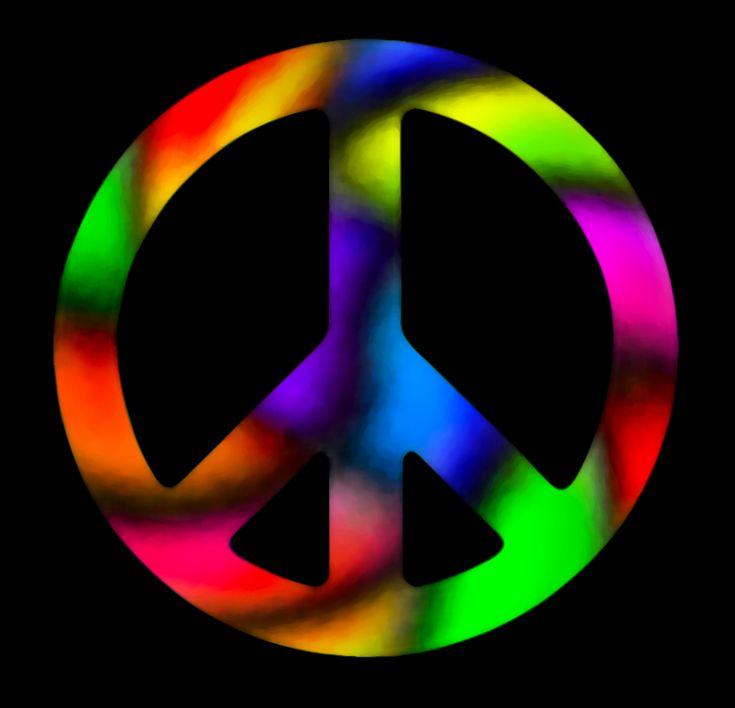 peace sign backgrounds | ! Wallpaper Downloads - Easy Being Green ...