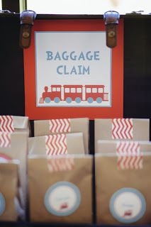 Baggae Claim Treat bags. How cute are these?!