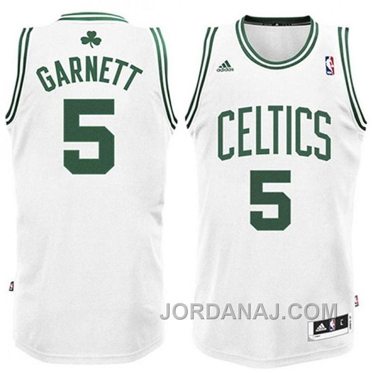 brand new 2473d ebd5b czech boston celtics 5 kevin garnett revolution 30 swingman ...