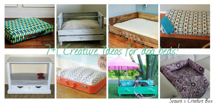 8 Inspiring ideas for you to create handmade dog beds for your lovely pets!
