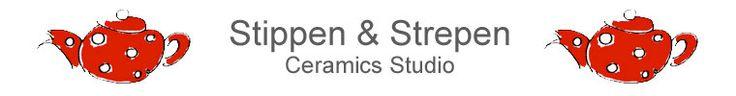 Keramiek Atelier Stippen & Strepen by StippenStrepen on Etsy