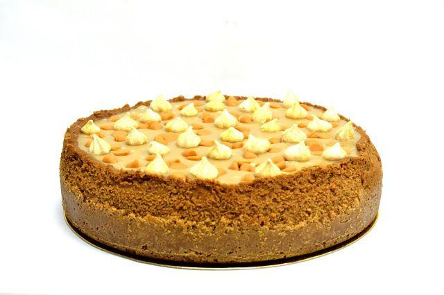 Cheesecake Americano de Caramelo Salgado    Toffee American Cheesecake