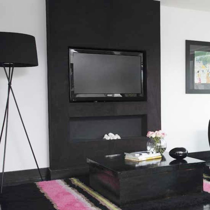 Die besten 25+ Tv wand mit rückwand Ideen auf Pinterest Tv möbel - wohnzimmer fernseher deko