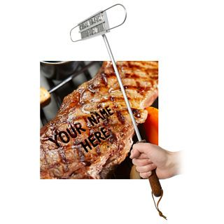 BBQ  Branding Iron. I really don't need this but it would be cool to have for steak nights. :]