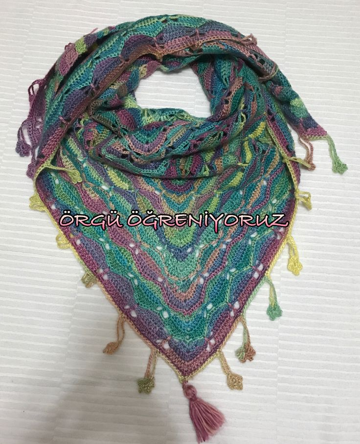 Butterfly shawl crochet