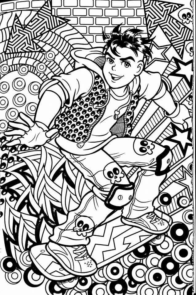 free new age coloring pages - photo#12