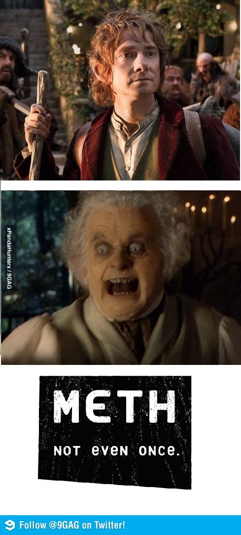 Meth, not even once, Hobbit style.