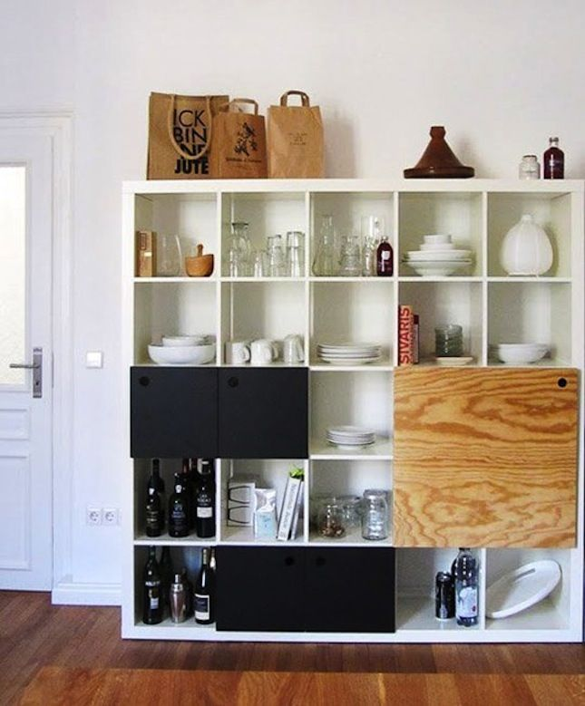 DIY a freestanding pantry with this tutorial.