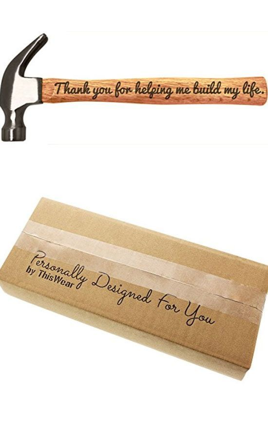 Engraved Wood Handle Steel Hammer   Inexpensive Fathers Day Gifts on a Budget   ...