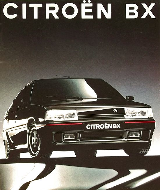 BX, Break. : CITROEN-CATALOG-GALLERY : by CITROEN DS.