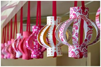 Hang an Indian inspired item for diwali