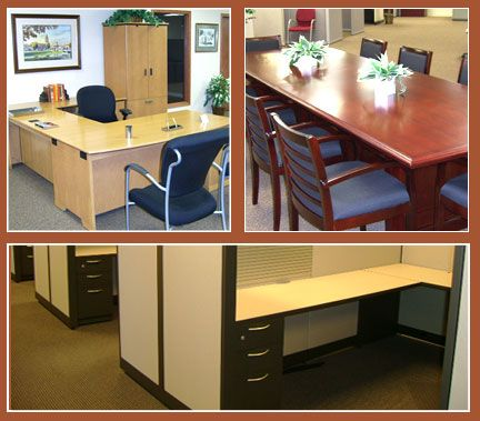 ROS fice Furniture provides used office furniture