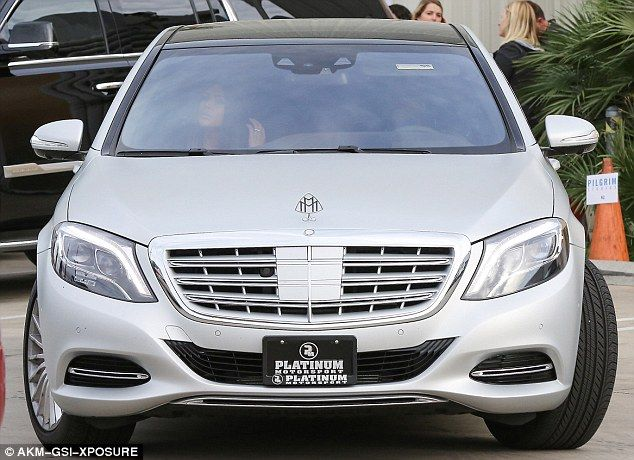 Posh wheels: Kim Kardashian and Kanye West are said to have splashed out more than $200k o...