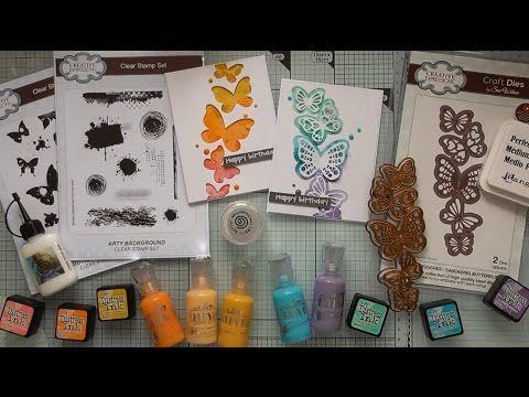 Bright Cascading Butterflies :D - YouTube