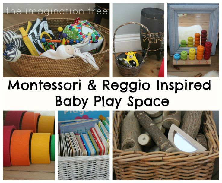 Baby Place Space for 6-18 Months: Inspired by Montessori and Reggio from The Imagination Tree