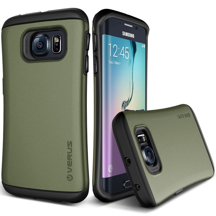 Verus Samsung Galaxy S6 Edge Case Thor Series - Military Green