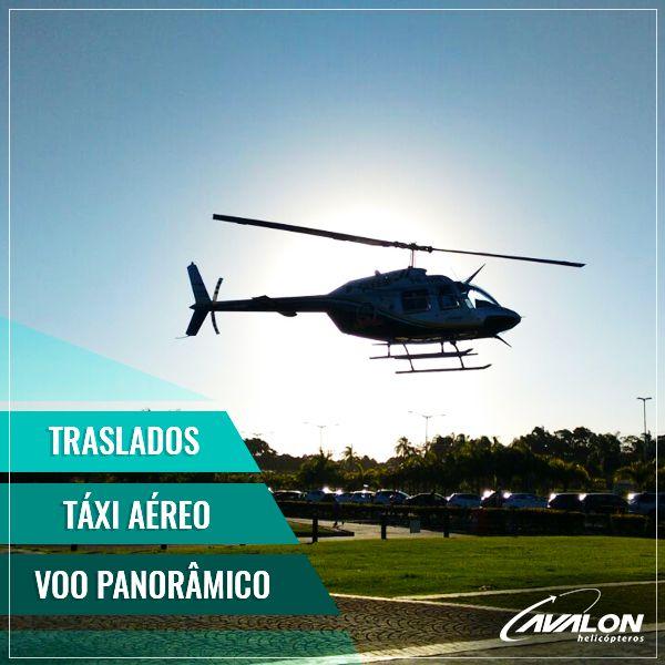 Aqui na Avalon você pode voar rapidamente por Santa Catarina através dos nossos TRASLADOS, realizar um maravilhoso VOO PANORÂMICO pelo parque Beto Carrero World, ou ainda solicitar nossos serviços de TÁXI AÉREO para chegar ao seu destino.🚁    #VoeAvalon #Traslados #VooPanoramico #TaxiAereo #VoosdeHelicoptero