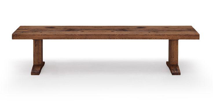 Oslo Bank von #Oliver B.  ab 614,00 € OSLO von Oliver B. ist eine geschmackvolle Bank aus Eichenholz. OSLO wird gerne kombiniert mit dem OSLO Tisch im Essbereich, aber auch alleinstehend zB. im Vorraum eingesetzt. Die Bank aus Massivholz ist in sieben verschiedenen Beiztönen und unterschiedlichen Längen erhältlich. Wählen Sie die passende Länge und den Beizton zwischen: - natural - natural light - antique - desert - white wash - grey wash - dark brown #Massivholzmöbel #Vollholzmöbel